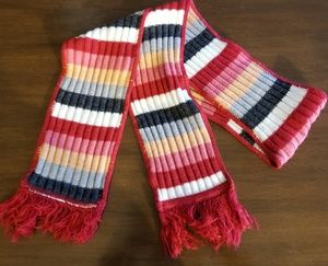 Accessories - Stripped Knitted Scarf